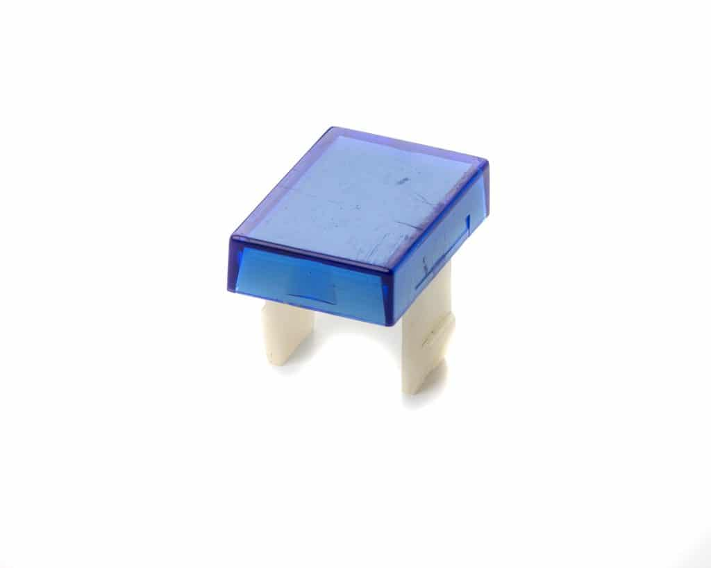 Harlacher Grunig Blue Push Button Cover.