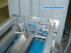 Prepress Coating Machine Lower Clamp Bar Mounts