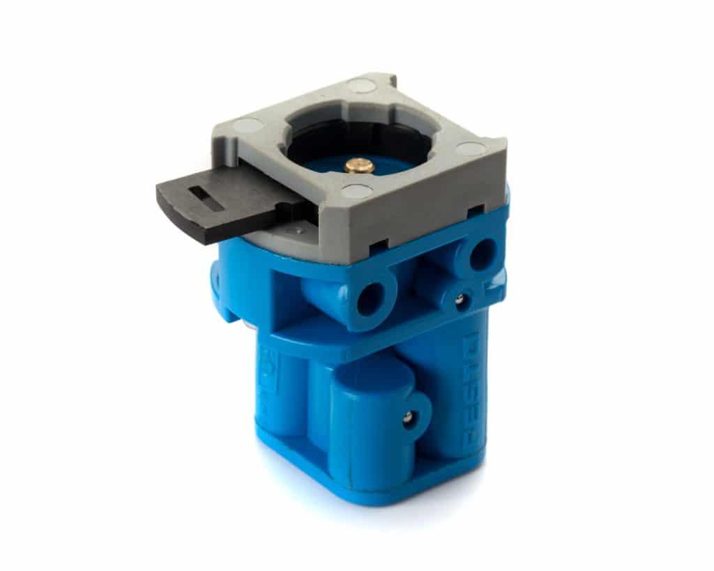Q-Lux screen coater clamp valve original type