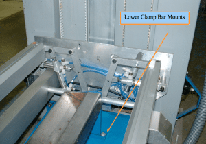 Prepress Coating Machine Lower Clamp Bar Mounts